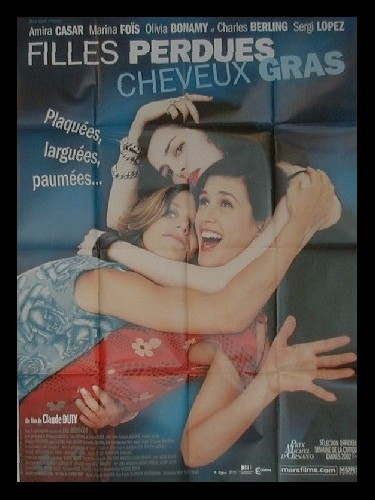 Affiche du film FILLES PERDUES CHEVEUX GRAS