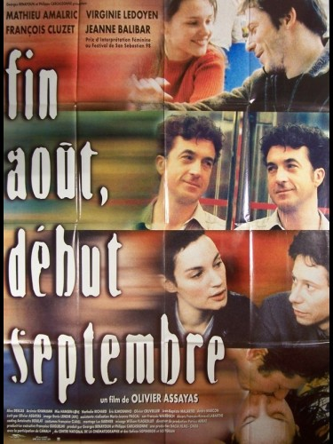 Affiche du film FIN AOUT DEBUT SEPTEMBRE