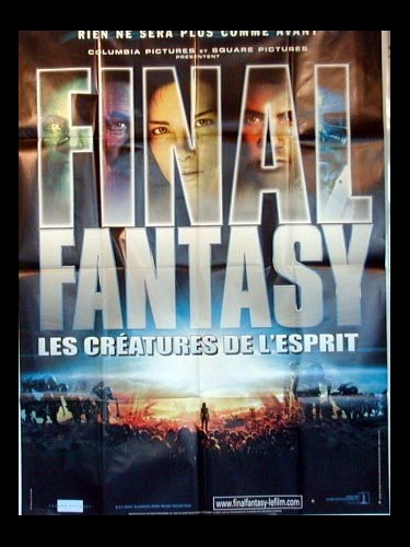 Affiche du film FINAL FANTASY (LES CREATURES DE L'ESPRIT) - FINAL FANTASY, THE SPIRITS WITHIN
