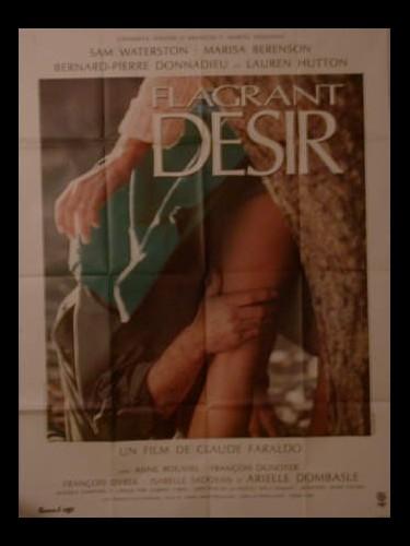 Affiche du film FLAGRANT DESIR