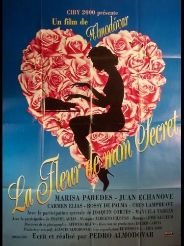 Affiche du film FLEUR DE MON SECRET (LA) - LA FLOR DE MI SECRETO