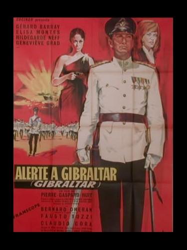 Affiche du film ALERTE A GIBRALTAR - GIBRALTAR