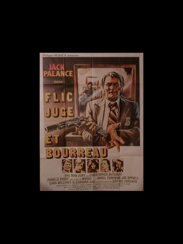 Affiche du film FLIC JUGE ET BOURREAU - ONE MAN JURY