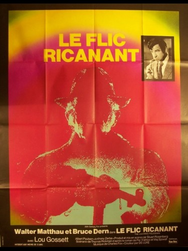 Affiche du film FLIC RICANANT (LE) - THE LAUGHING POLICEMAN