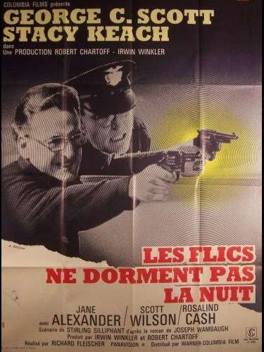 Affiche du film FLICS NE DORMENT PAS LA NUIT (LES) - THE NEW CENTURIONS