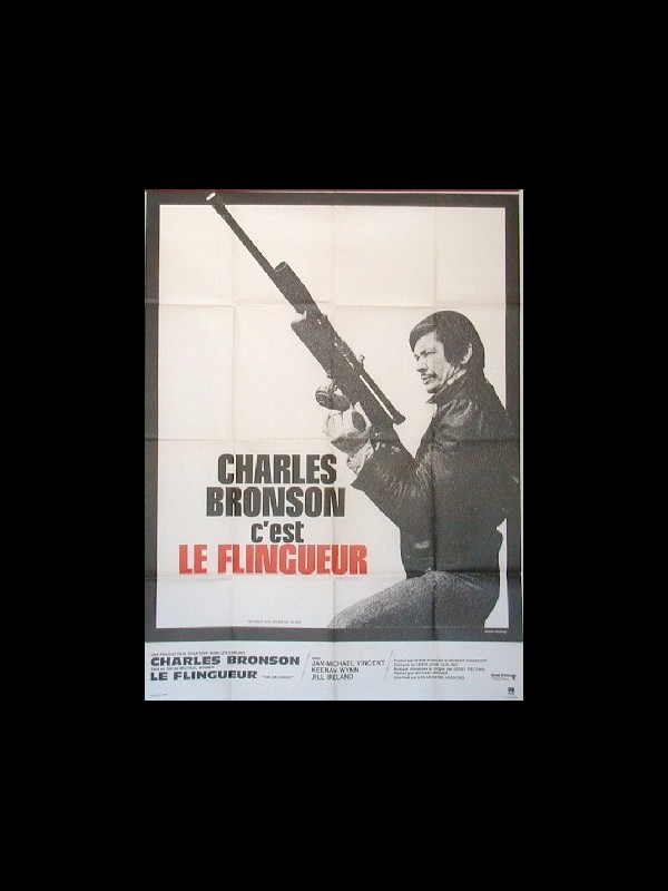 Affiche du film FLINGUEUR (LE) - THE MECHANIC
