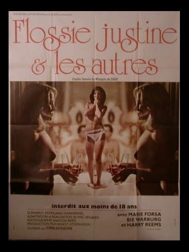 Affiche du film FLOSSIE,JUSTINE ET LES AUTRES - FLOSSIE