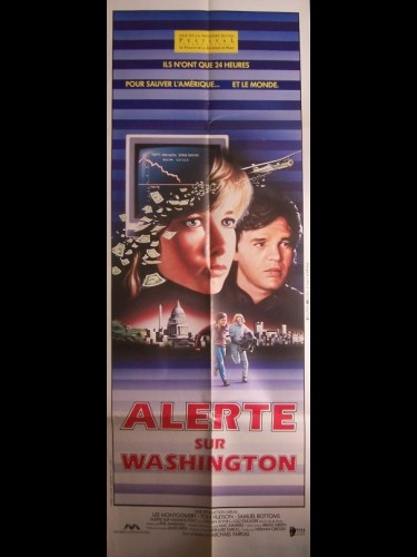 Affiche du film ALERTE SUR WASHINGTON - PRIME RISK