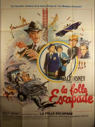 Affiche du film FOLLE ESCAPADE (LA) - NO DEPOSIT, NO RETURN