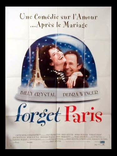 Affiche du film FORGET PARIS