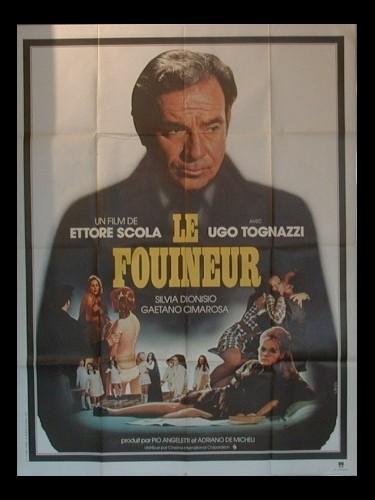 Affiche du film FOUINEUR (LE) - IL COMMISSARIO PEPE