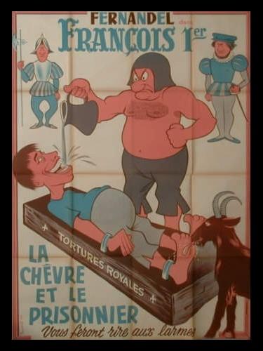 Affiche du film FRANCOIS 1ER
