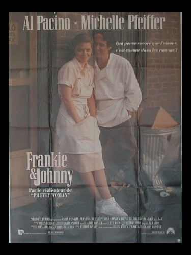 Affiche du film FRANKIE ET JOHNNY
