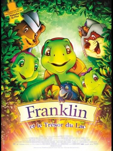 Affiche du film FRANKLIN ET LE TRESOR DU LAC