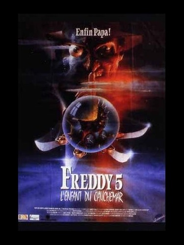 Affiche du film FREDDY 5 - THE DREAM CHILD