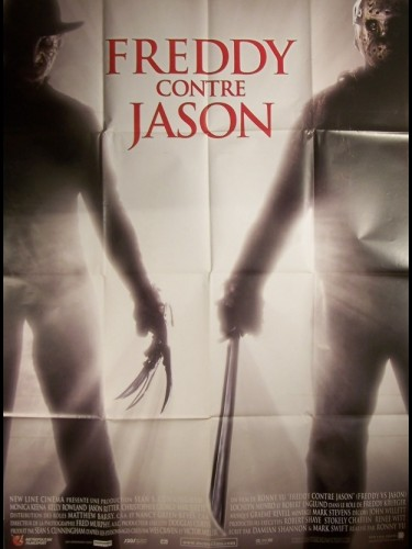 Affiche du film FREDDY CONTRE JASON - FREDDY VS JASON