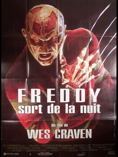 Affiche du film FREDDY SORT DE LA NUIT - NEW NIGHTMARE