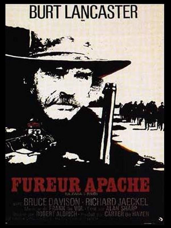 Affiche du film FUREUR APACHE - ULZANA'S RAID