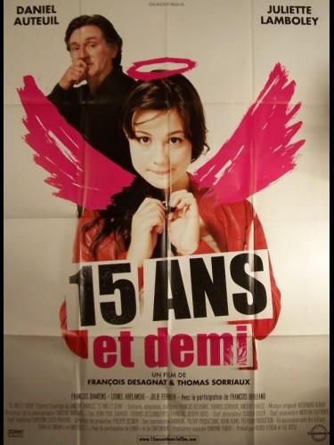 Affiche du film 15 ANS ET DEMI