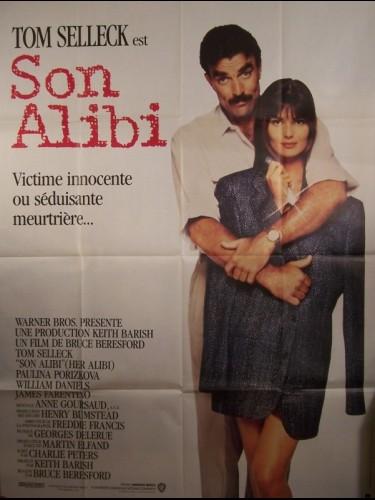 Affiche du film ALIBI (SON)