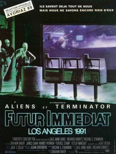 Affiche du film FUTUR IMMEDIAT LOS ANGELES 1991 - ALIEN NATION