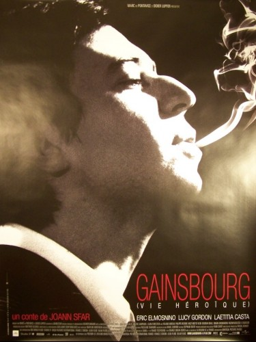 Affiche du film GAINSBOURG