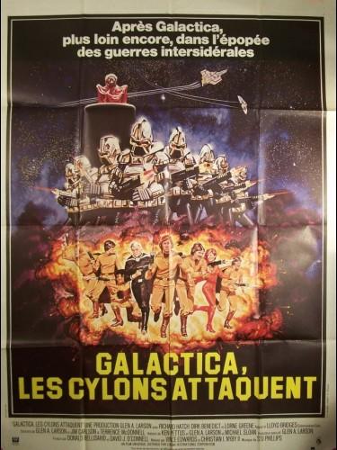 Affiche du film GALACTICA -LES CYCLONS ATTAQUENT-