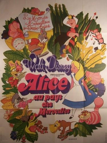 Affiche du film ALICE AU PAYS DES MERVEILLES - ALICE IN WONDERLAND