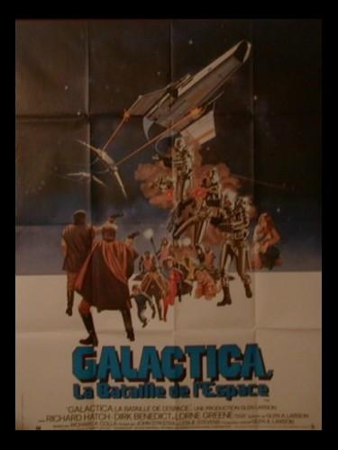 GALACTICA, LA BATAILLE DE L'ESPACE - BATTLESTAR GALACTICA