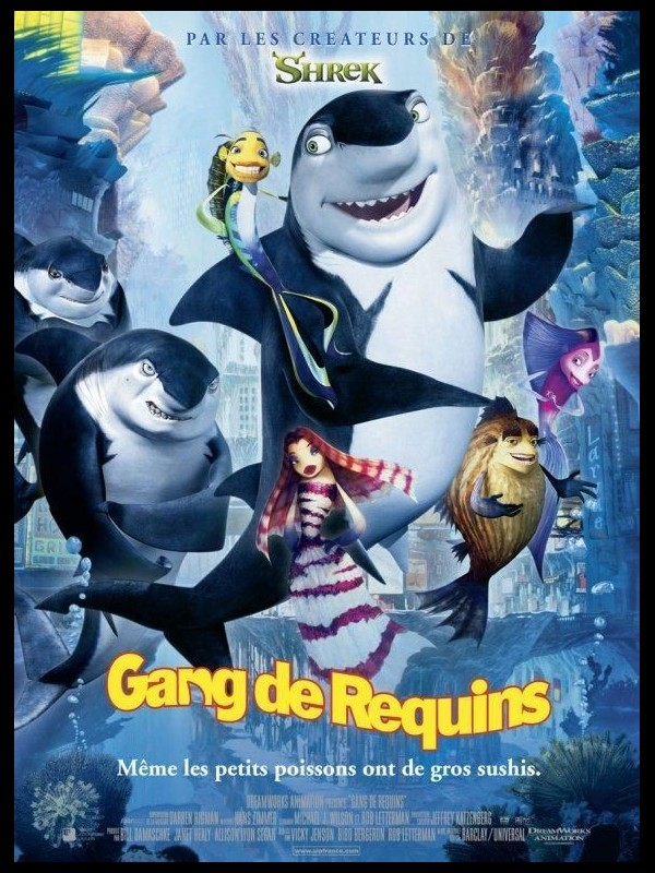 Affiche du film GANG DE REQUINS - SHARK TALE