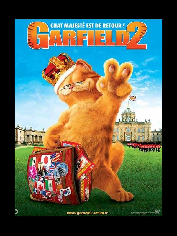 Affiche du film GARFIELD 2 - GARFIELD'S A TAIL OF TWO KITIES