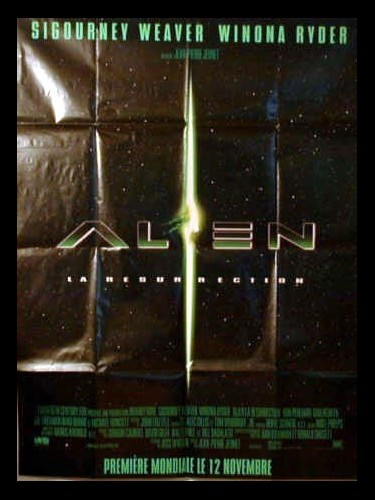 Affiche du film ALIEN LA RESUREECTION