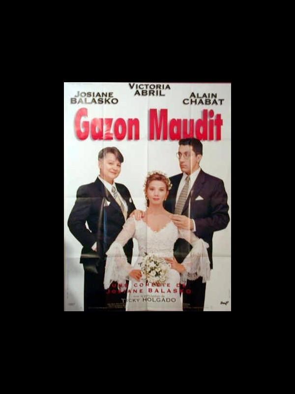 Affiche du film GAZON MAUDIT