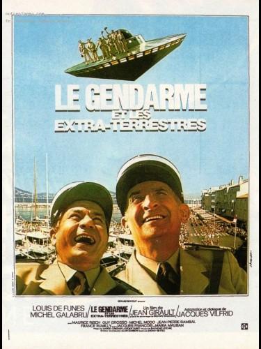 Affiche du film GENDARME ET LES EXTRA-TERRESTRES (LES)