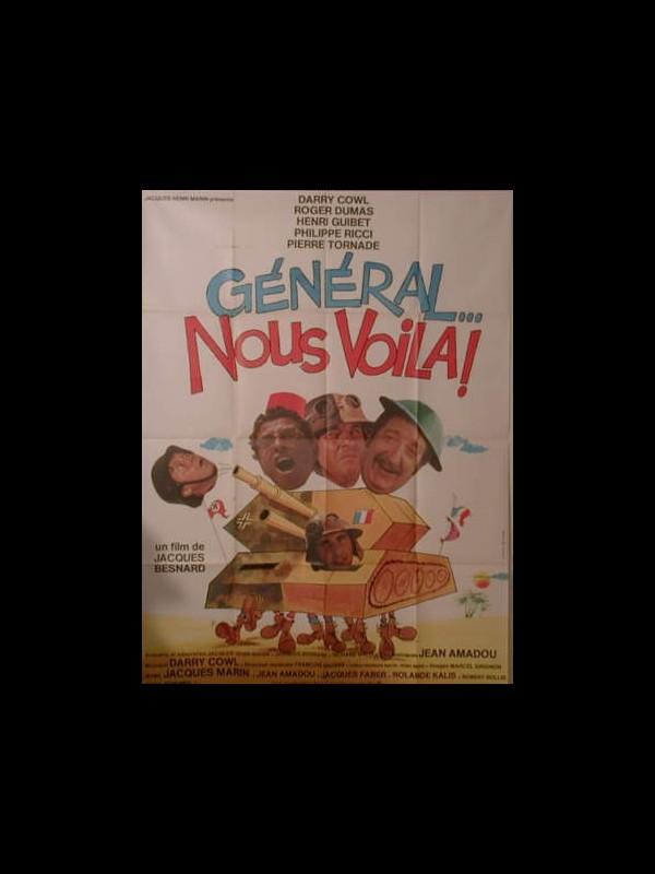 Affiche du film GENERAL,NOUS VOILÀ