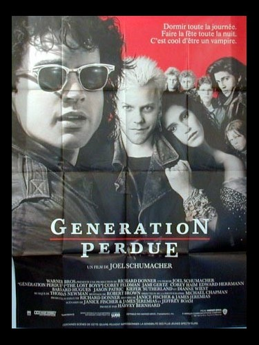 Affiche du film GENERATION PERDUE - THE LOST BOYS