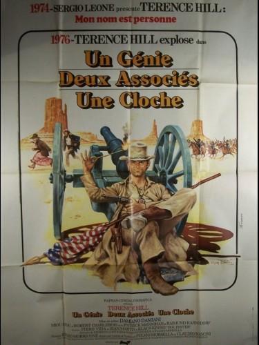 Affiche du film GENIE, 2 ASSOCIES, UNE CLOCHE (UN) - UN GENIO, DUE COMPARI, UN POLLO