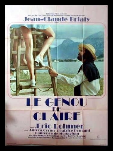 Affiche du film GENOU DE CLAIRE (LE)