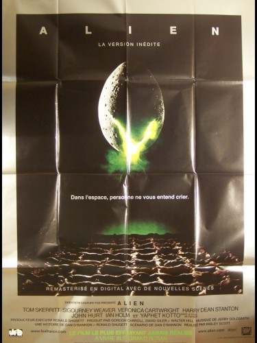 Affiche du film ALIEN, LE HUITIEME PASSAGER (VERSION INEDITE)
