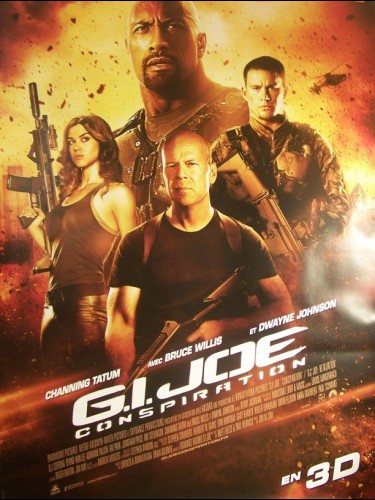 Affiche du film GI JOE CONSPIRATION