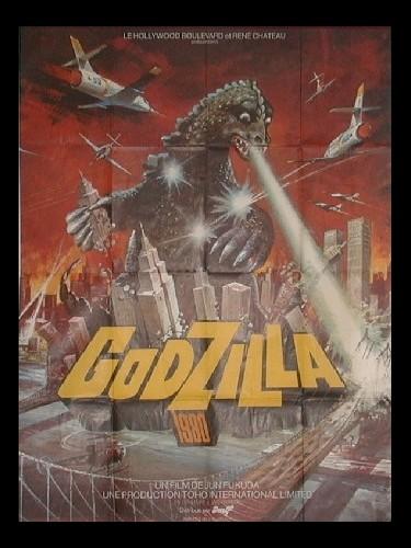 Affiche du film GODZILLA 1980