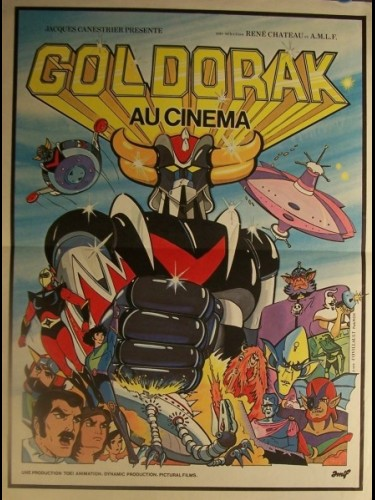 Affiche du film GOLDORAK LE FILM
