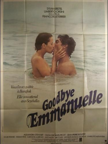 Affiche du film GOOD BYE EMMANUELLE