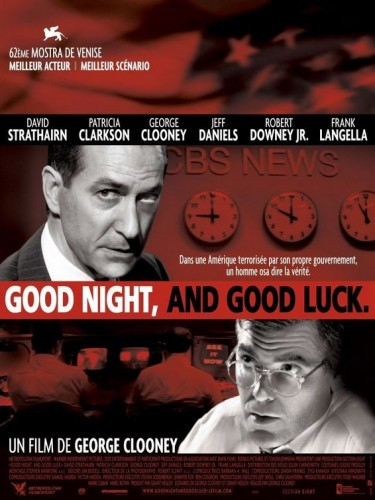 Affiche du film GOOD NIGHT, AND GOOD LUCK - GOOD NIGHT, AND GOOD LUCK