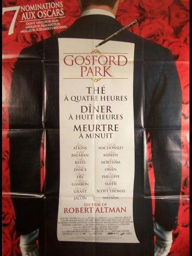 Affiche du film GOSFORD PARK