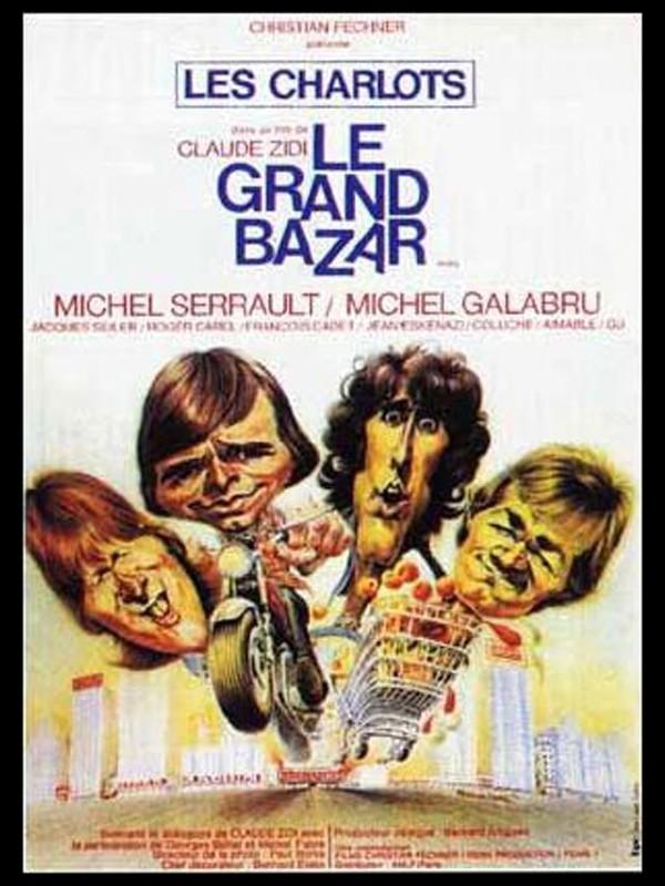 Affiche du film GRAND BAZARD (LE) LES CHARLOTS
