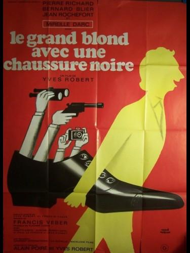 Affiche du film GRAND BLOND AVEC UNE CHAUSSURE NOIRE (LE)