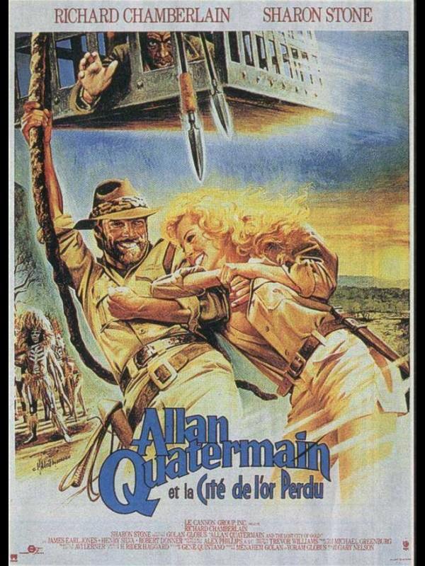 Affiche du film ALLAN QUATERMAIN ET LA CITE DE L'OR PERDU - ALLAN QUATERMAIN AND THE LOST CITY OF GOLD