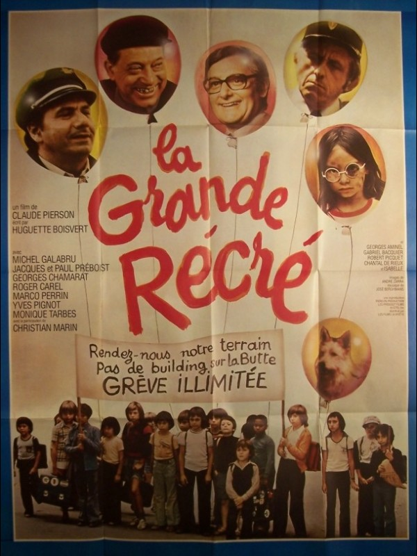 Affiche du film GRANDE RECRE (LA)
