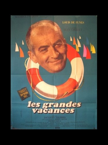 Affiche du film GRANDES VACANCES (LES)